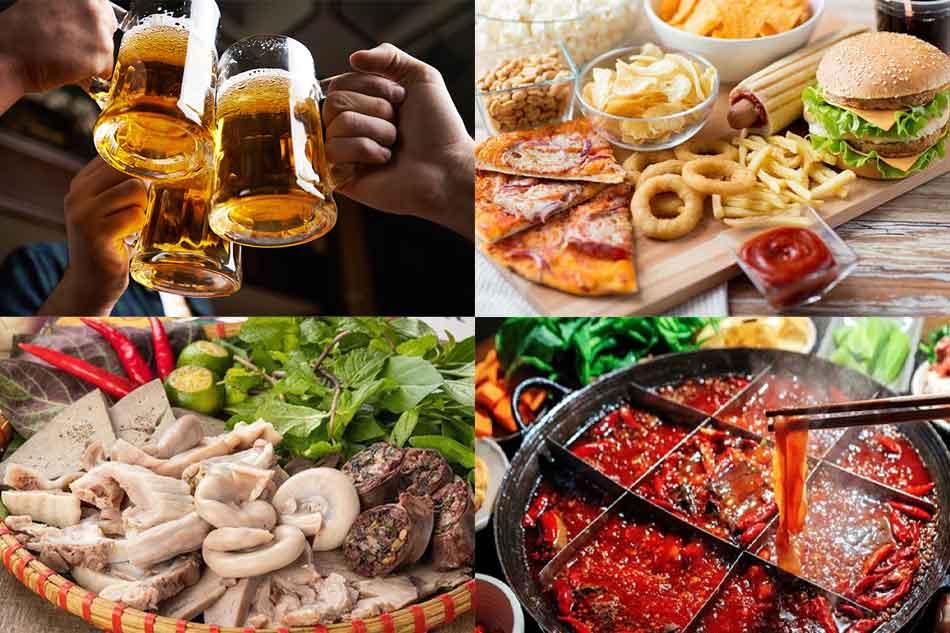 Một số loại thực phẩm cần hạn chế ăn giúp phòng ngừa gan nhiễm mỡ